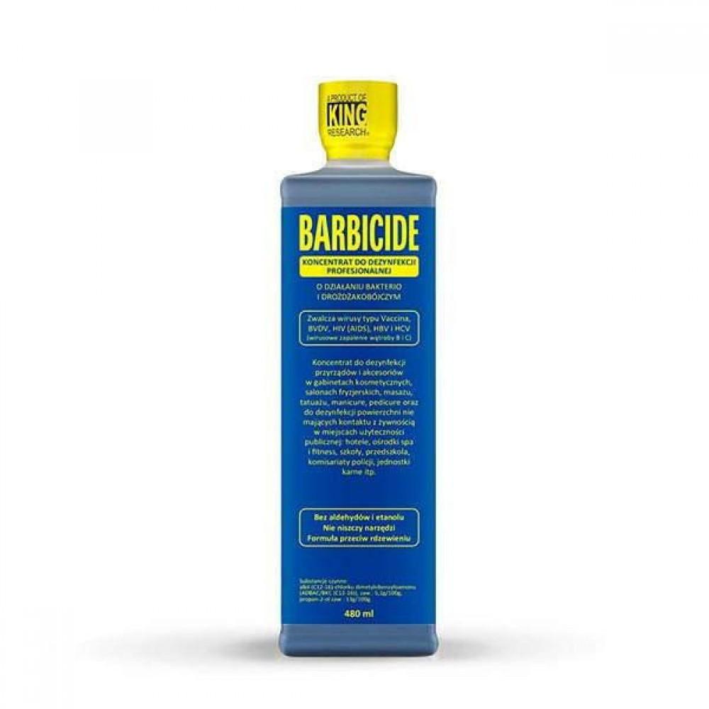 Рідина для дезінфекції інструментів Barbicide 473мл