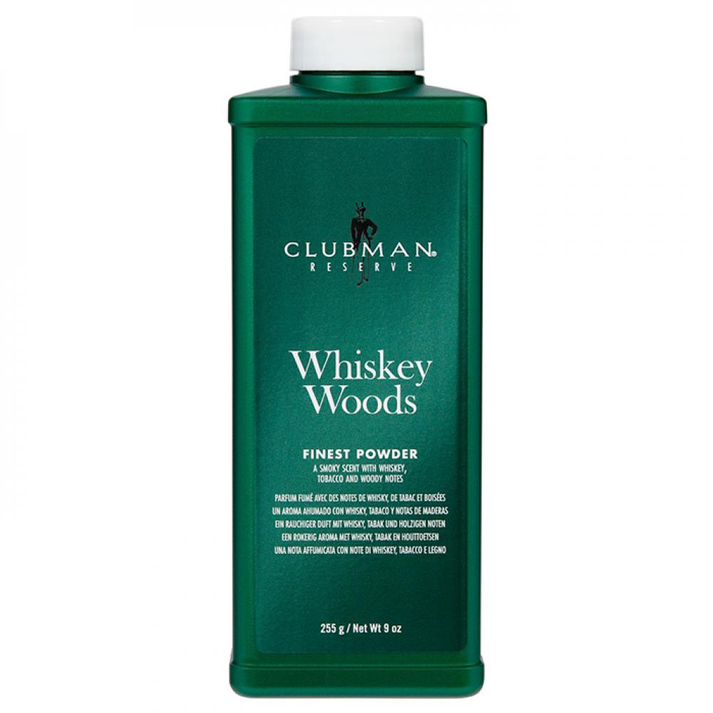 Тальк для тіла Clubman Whiskey Woods Finest Talc 255г