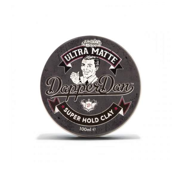 Глина для укладання волосся  Dapper Dan Ultra Matte Super Hold Clay 100г