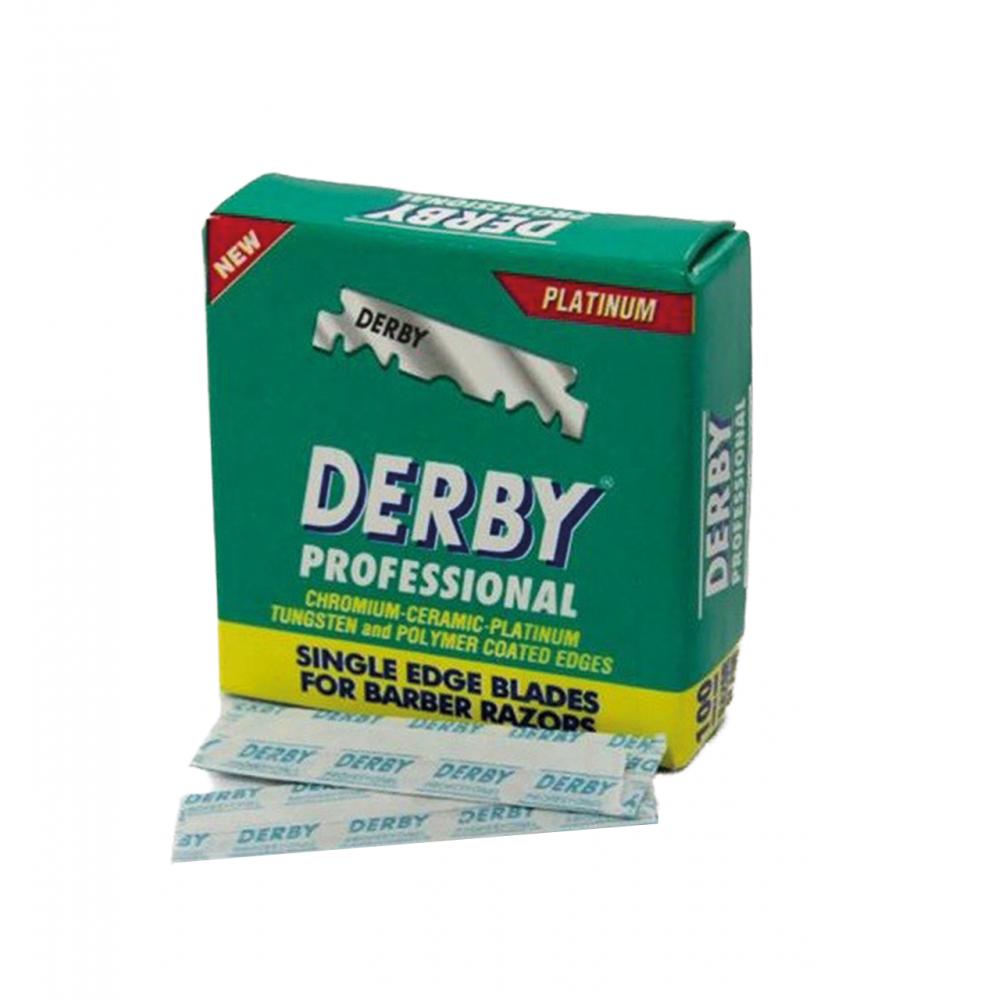 Леза Derby Professional половинки 100шт