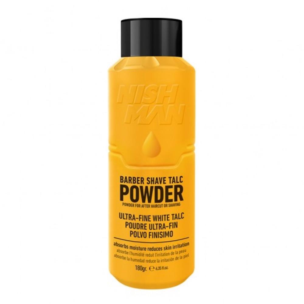 Тальк для тіла Nishman Barber Shave Talc Powder 180г