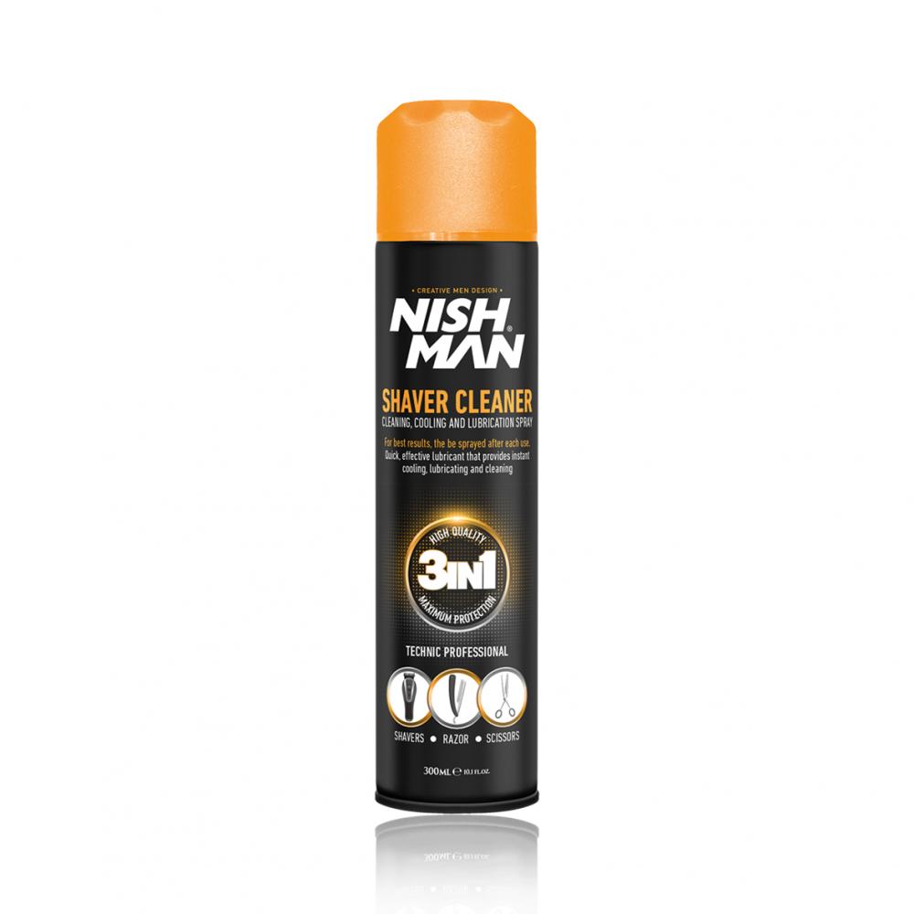 Спрей для чистки інструментів Nishman Shaver Cleaner 300мл