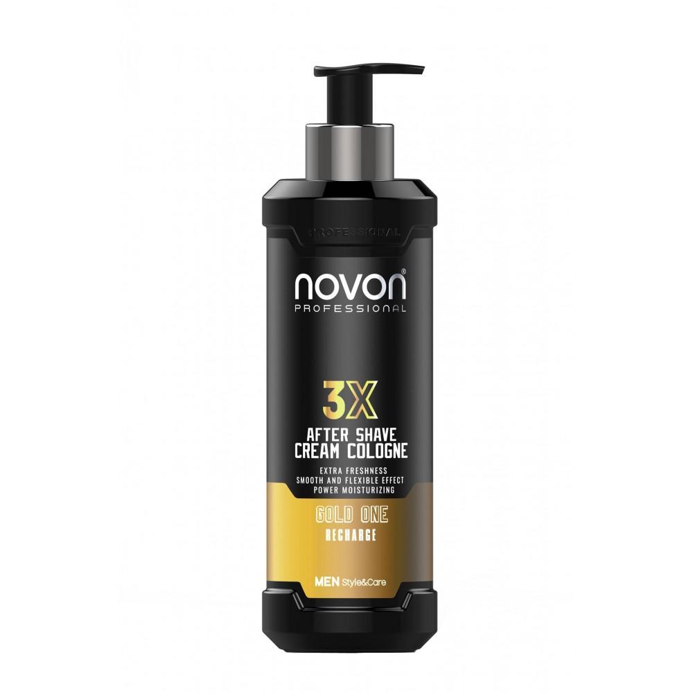 Крем після гоління Novon 3X Aftershave Cream Cologne Gold One 400 мл