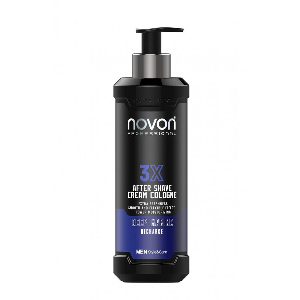 Крем після гоління Novon 3X Aftershave Cream Cologne - Deep Marine 400 мл