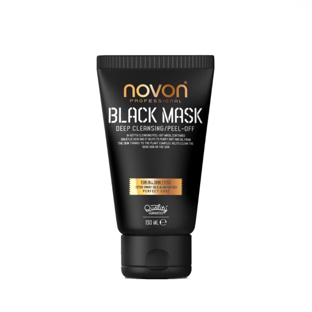 Чорна маска Novon Professional Black Mask 150мл