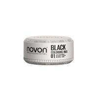 Віск з ефектом камуфляжу Novon Professional Coloring Wax 01 BLACK 100мл