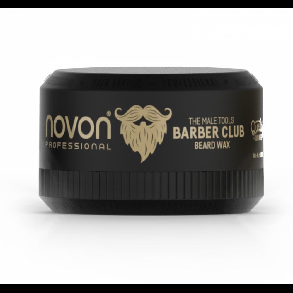 Віск для бороди і вусів  - Novon Barber Club BEARD WAX 50мл