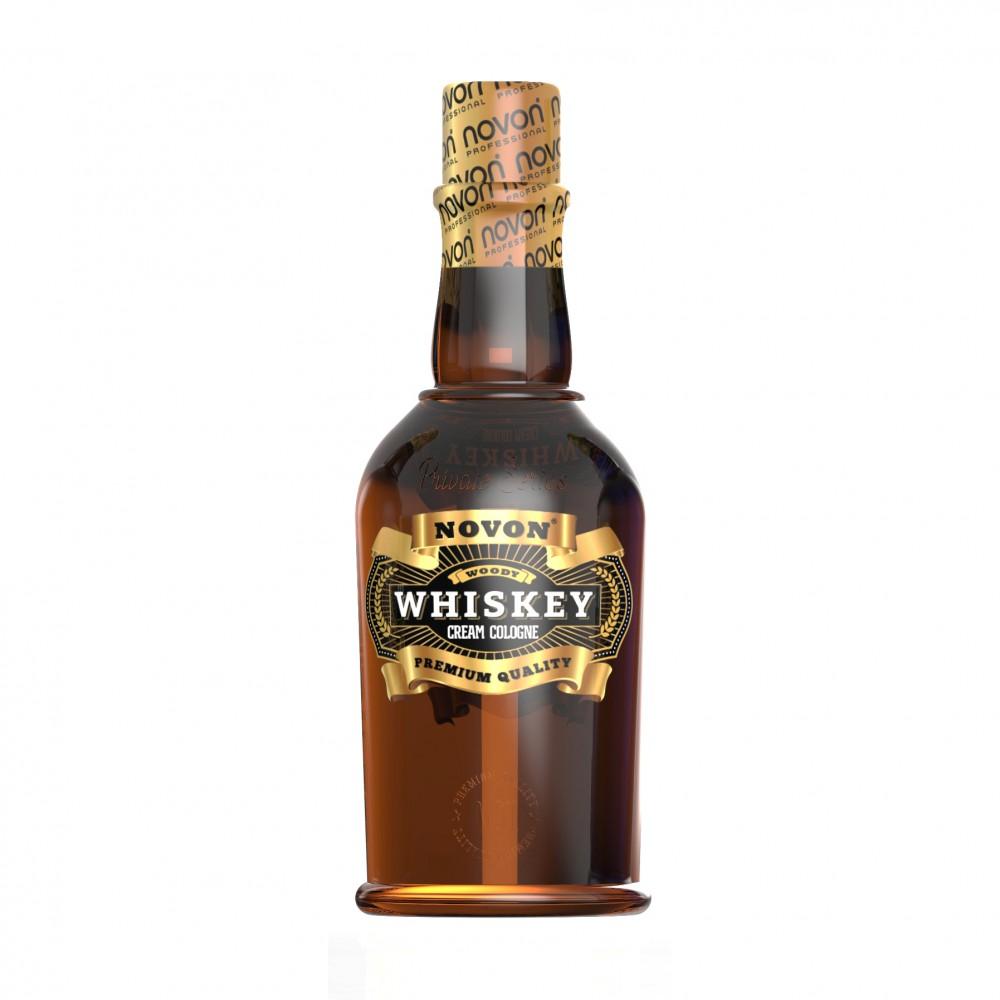 Крем після гоління Novon Whiskey Cream Cologne Woody 400 мл