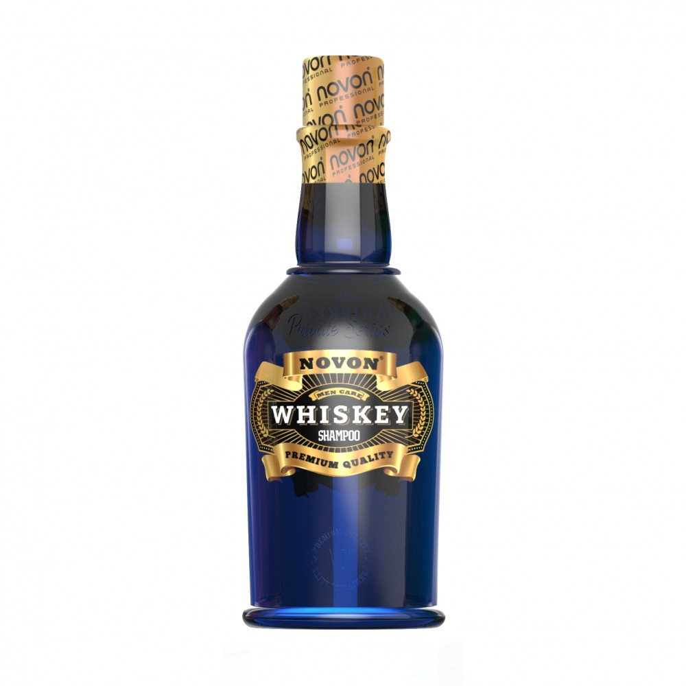 Шампунь для волосся Novon Whiskey Shampoo 400мл