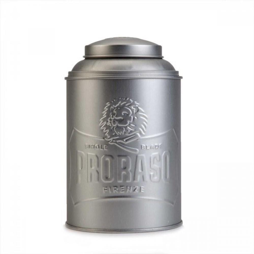 Дозатор для тальку та пудри Proraso Tin Box Powder/Talc