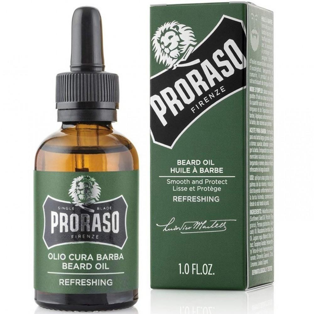 Олія для бороди  - Proraso Refreshing Beard Oil 30 мл