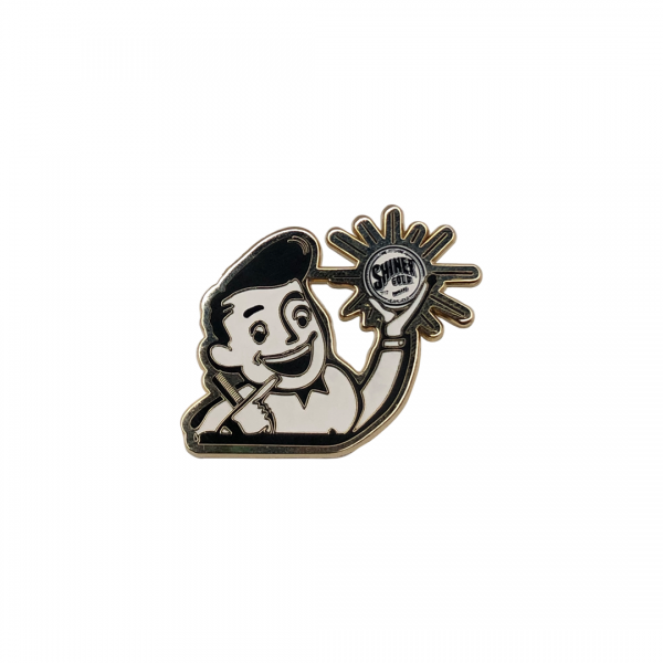 Брошка Shiner Gold Boy Pin