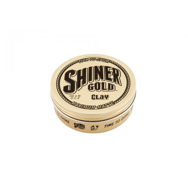 Глина для укладки волосся Shiner Gold Matte Clay 113г
