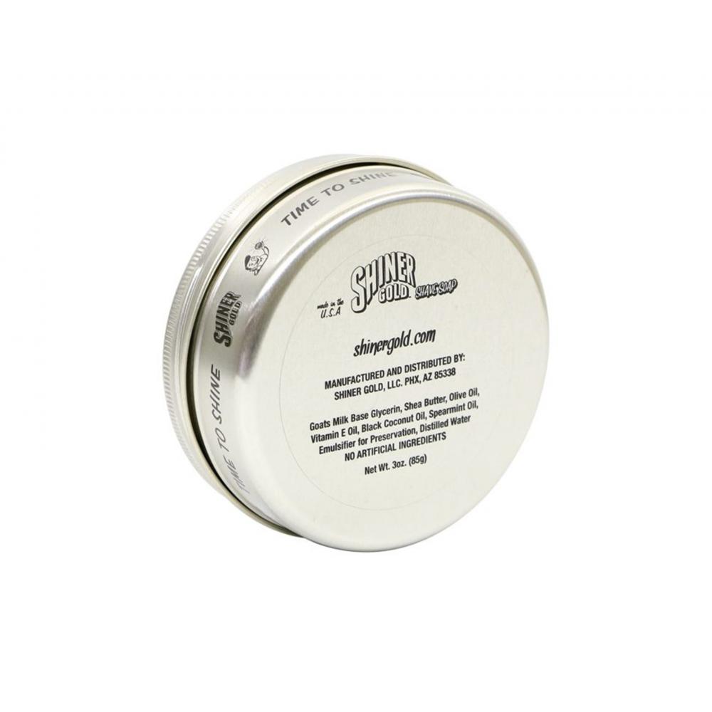 Мило для гоління - Shiner Gold Shave Soap 85г