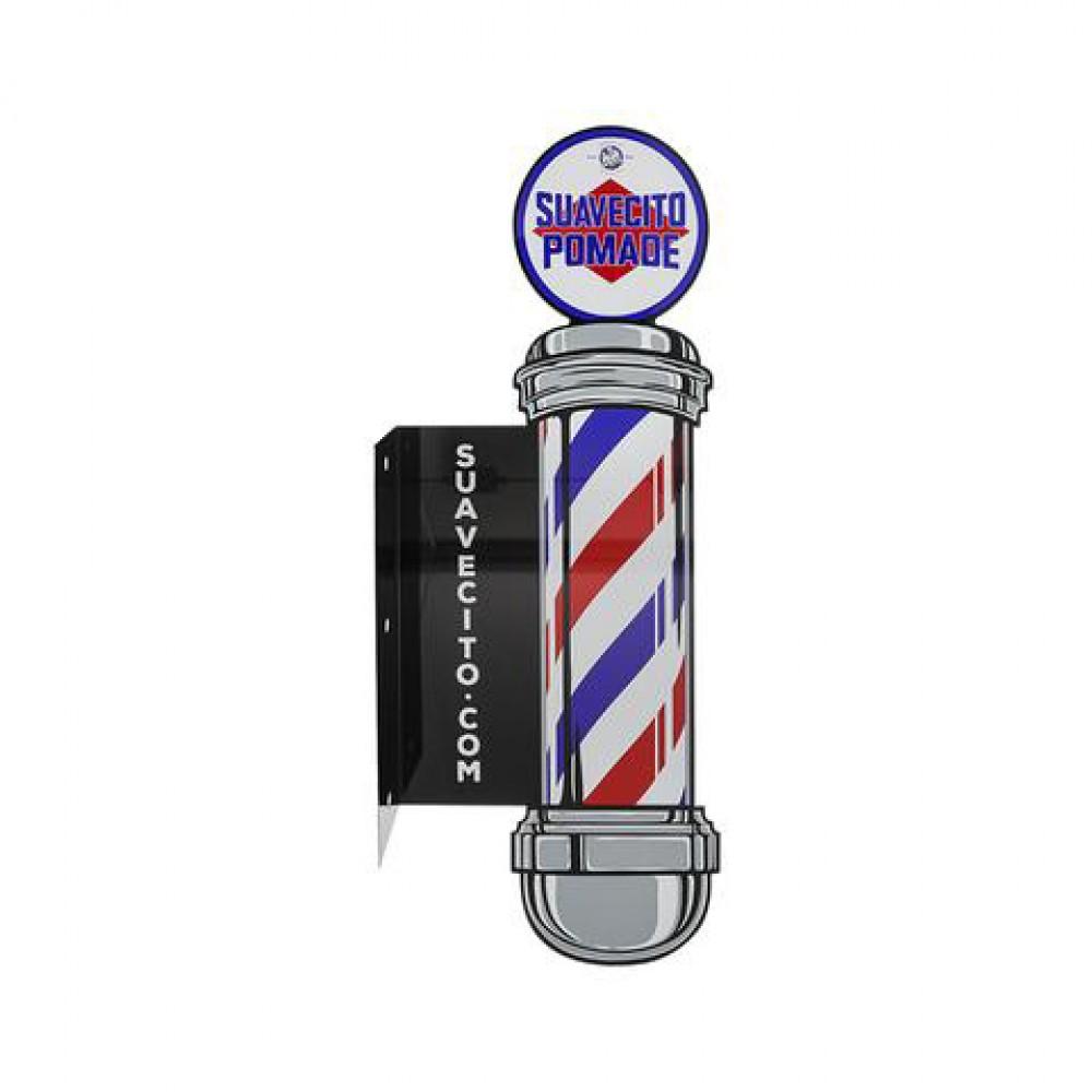Металевий знак Suavecito Barber Pole Metal Sign