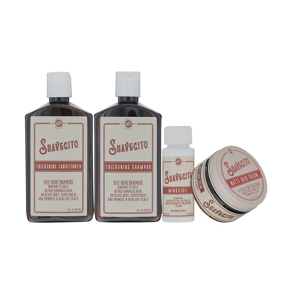 Набір для росту волосся Suavecito Hair Loss Treatment Kit курс 1 місяць