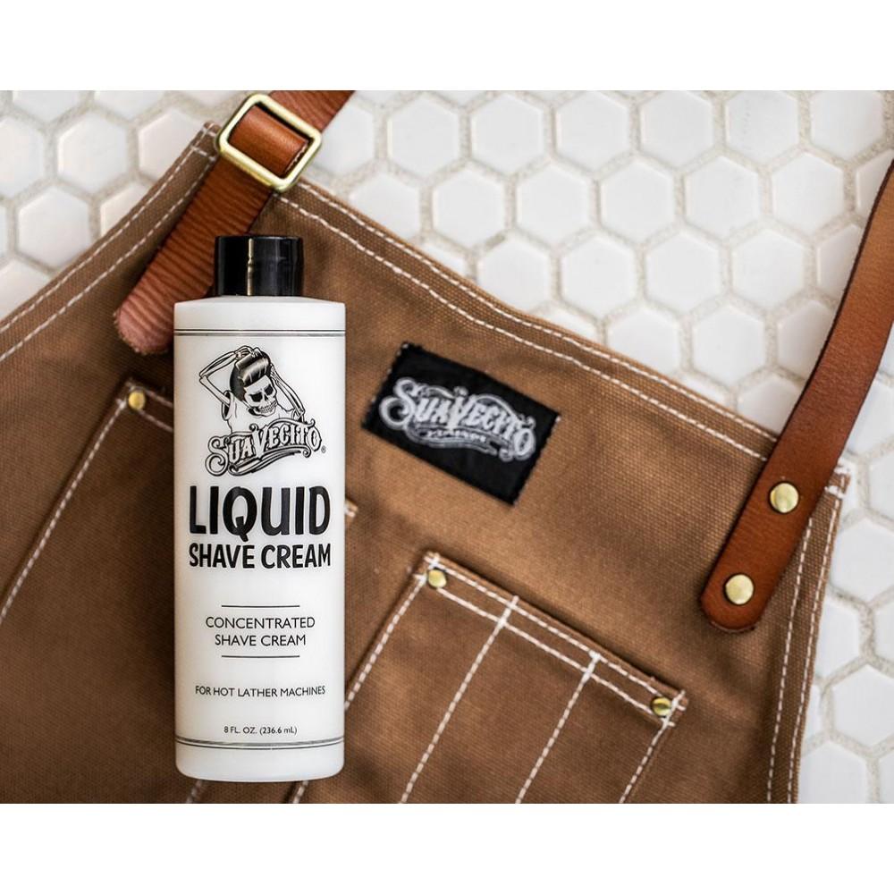 Крем для гоління Suavecito Liquid Shave Cream 236мл