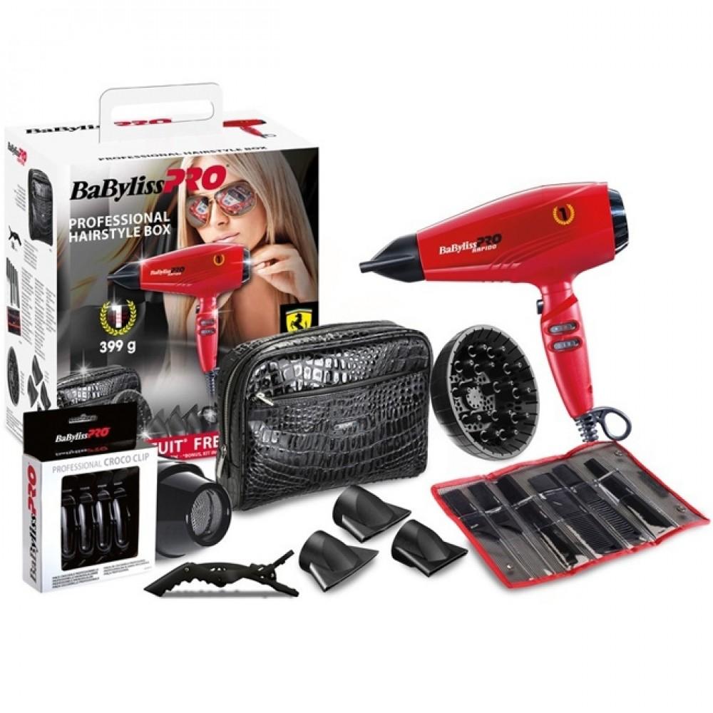 Набір BaByliss PRO P1035E Rapido Hairstyle Box