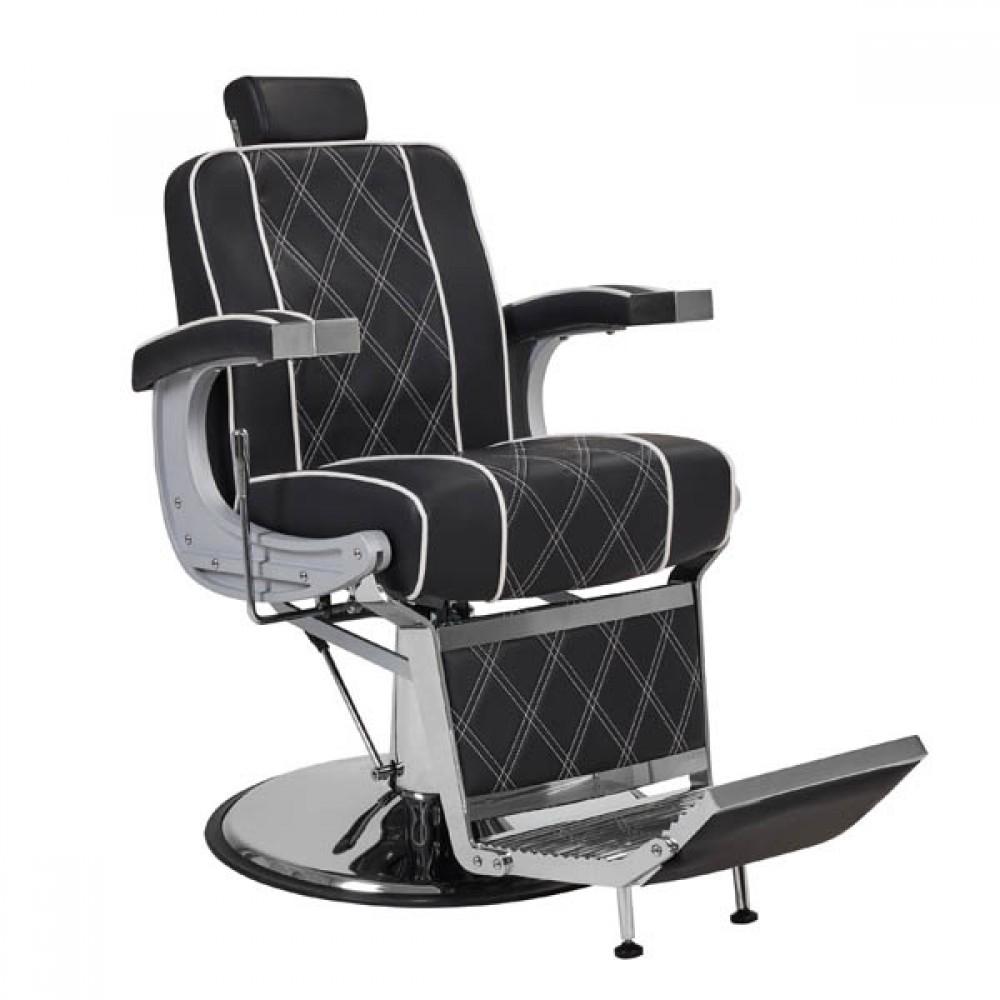 Барберське крісло Valencia Lux Black