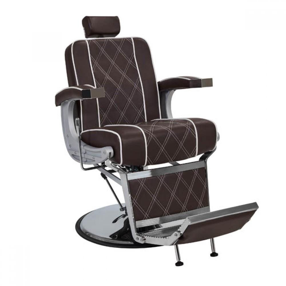 Барберське крісло Valencia Lux Brown
